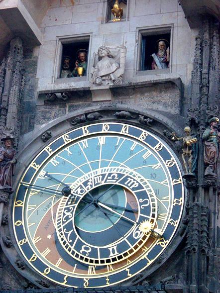 details of the prague clock