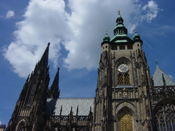 st vitus in prague castle