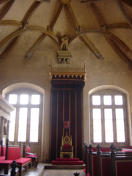 throne room in prague castle