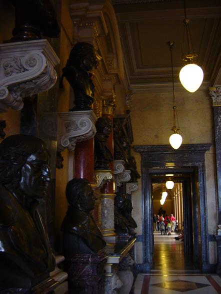 narodni muzeum in the center of prague